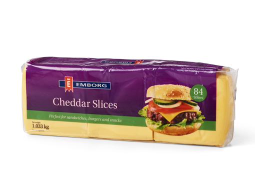 Emborg Processed Sliced Cheese
